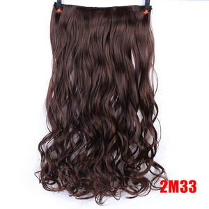 Long Synthetic Hair Clip