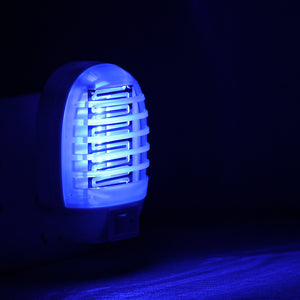 220V EU Plug Electric Mosquito Killer Lamp Insect Pest Bug Zapper Repeller Mini Blue Night Light Any Panda