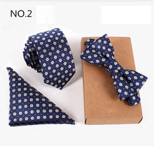 3pcs Slim Tie Set