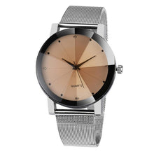 Men Crystal Quartz-Watch