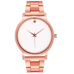 Super Sexy Women's Rose Gold Quartz Watch. For the chic casual lady going out for drink or to a business meeting. Free Shipping!