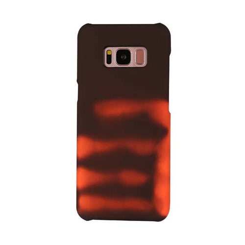 One of the coolest phone cases out there! Change the colors by simply touching it. The body heat from your hand reacts with the Thermal Sensor Samsung Galaxy S8 Case