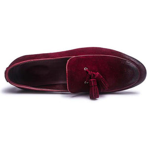 Doctor/Lawyer Type Leather Tassel Oxfords Loafers