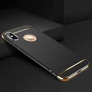Flush Gold Accent Case for iPhone X