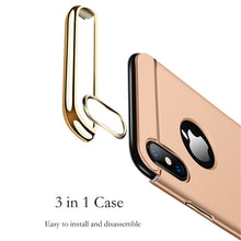 Protect your phone is style with this Flush Gold Accent iPhone X Case and enjoy Free Shipping!