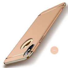 Protect your iPhone X with this fashionable Gold Accent Sleek Case