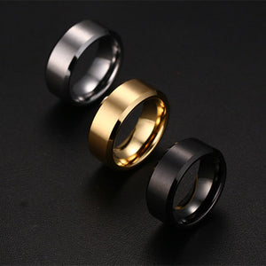 Stainless Steel Men's Fashion Rings. Add style to your hands to compliment your watch and other accessories