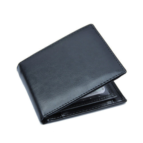 Men Bifold Leather Wallet