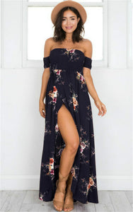 Stand out in spring break and summer with these Vintage Floral Maxi Dresses also available in plus sizes