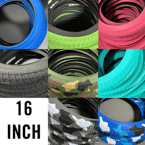"Fiction BMX 16"" Sixteen Inch Troop Tyre"