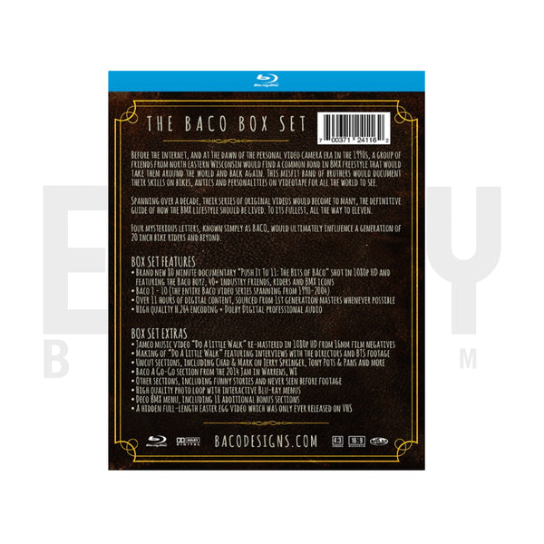 BACO Collector's Edition Blu-ray Box Set