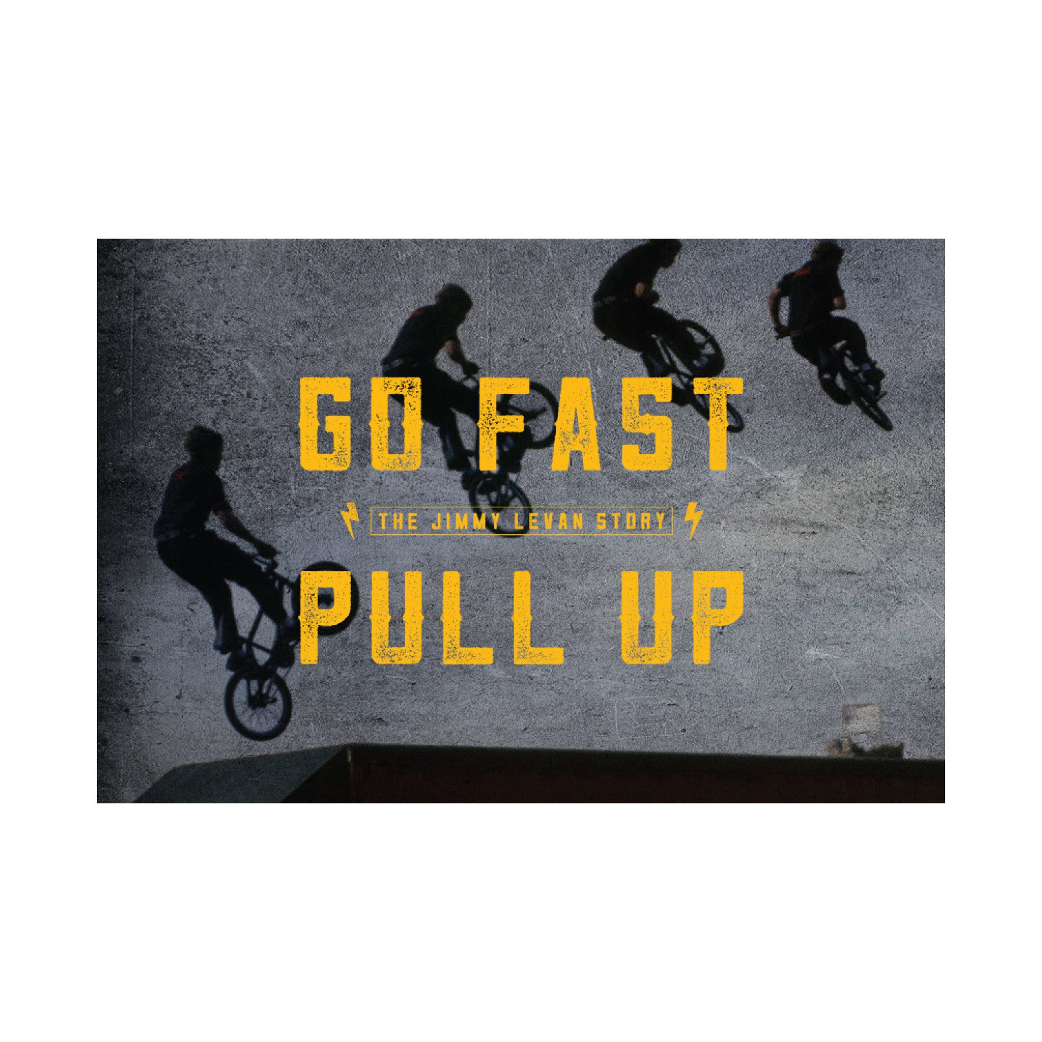 Go Fast Pull Up, The Story of Jimmy Levan, Documentary Blu-Ray