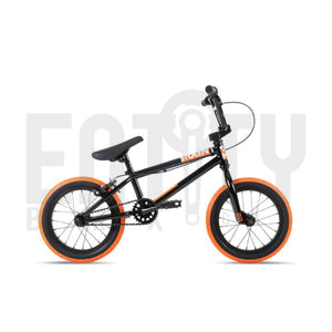 Stolen Brand 2021 Agent 14 Inch Complete BMX Bike / Black & Orange