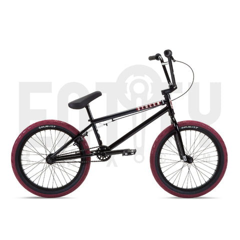Stolen Brand 2021 Casino Complete BMX Bike / Black & Red