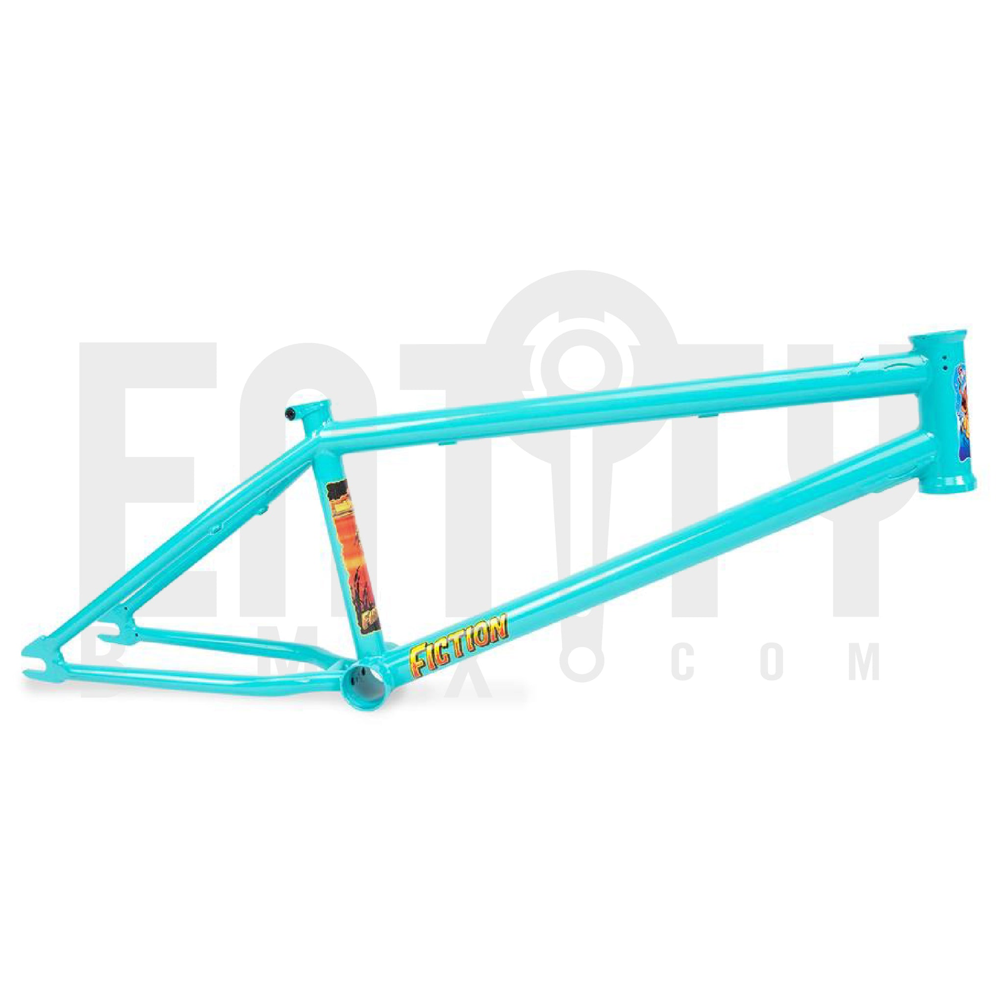 Fiction Bikes Creature Frame / Caribbean Green