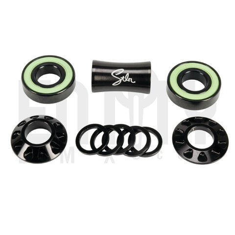 Stolen Brand Revolver 19mm Mid BB Bottom Bracket Set / Black