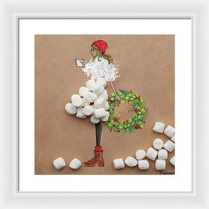 Cocoa Girl - Framed Print