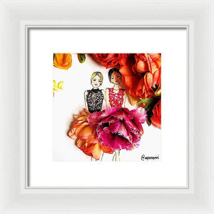Marchesa - Framed Print