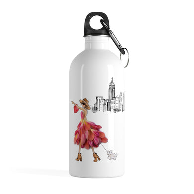 City Shopper Stainless Steel Water Bottle (14oz)