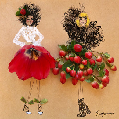 The Cranberry Girls  - Art Print