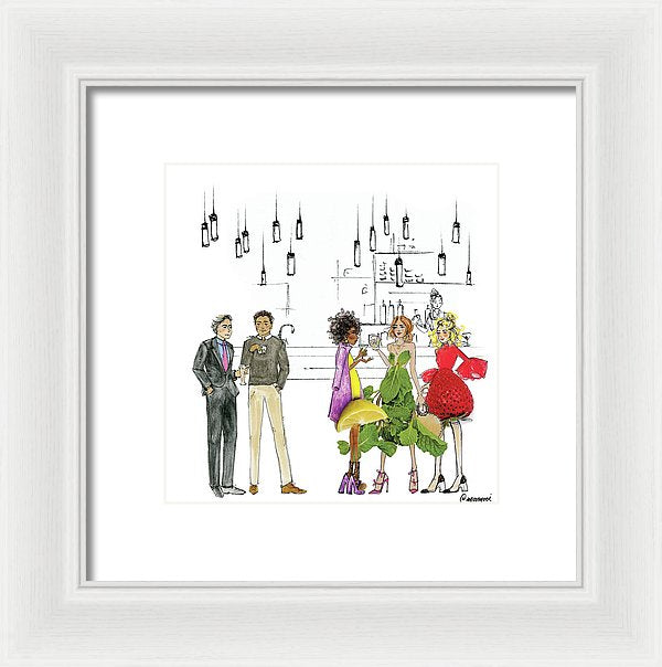 A Night Out - Framed Print