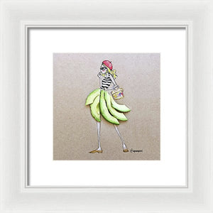 Avocado Beret - Framed Print