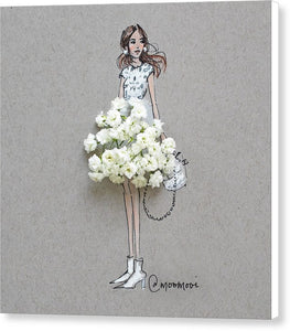 Baby Breath Chic - Canvas Print
