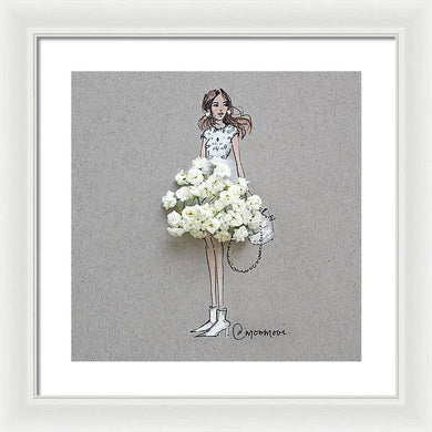 Baby Breath Chic - Framed Print