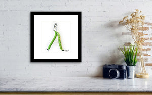 Bean There Done That  - Framed Print
