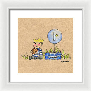 Birthday Boy - Framed Print