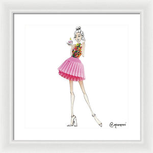 Birthday Girl - Framed Print