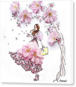 Cherry Blossom - Canvas Print