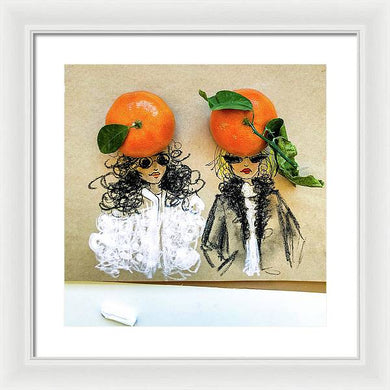 Clementine Hats - Framed Print