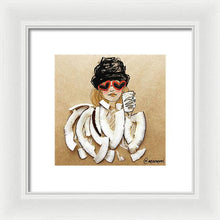 Coconut Heart Sunnies - Framed Print