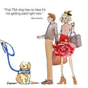 Dog Probs - Art Print