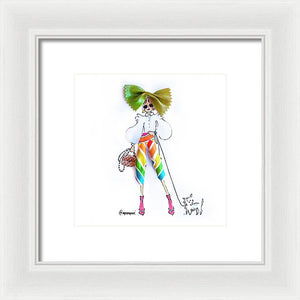 Pasta Pants - Framed Print