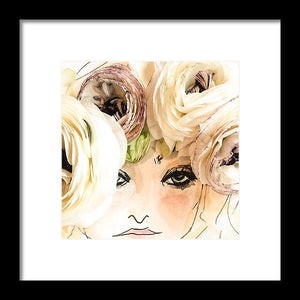 Flower Crown  - Framed Print