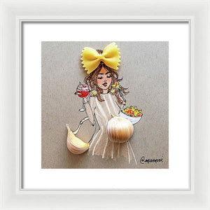 Garlic Baby - Framed Print