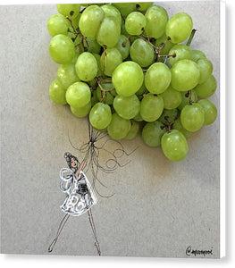 Grape Balloon  - Canvas Print