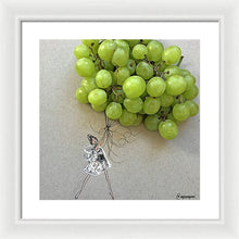 Grape Balloon  - Framed Print