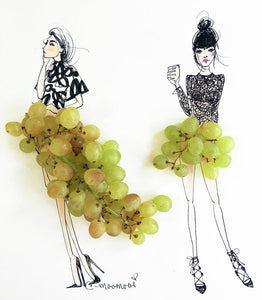 Grapeful  - Art Print
