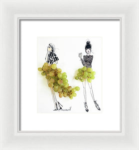 Grapeful  - Framed Print
