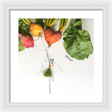 Heart Beet - Framed Print