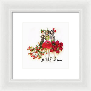 Holiday Party - Framed Print