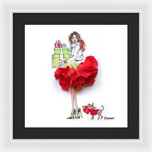 Holiday Presents - Framed Print