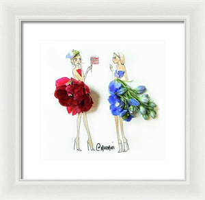 Independent Ladies - Framed Print
