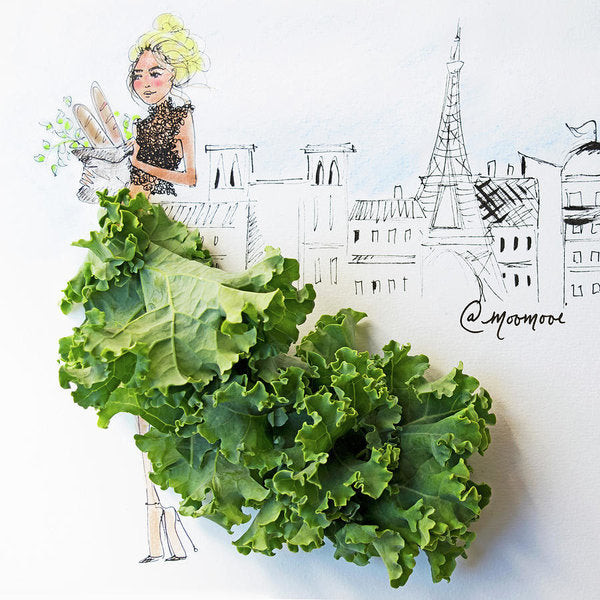 Kale Paris - Art Print