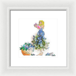 Katie Mama - Framed Print