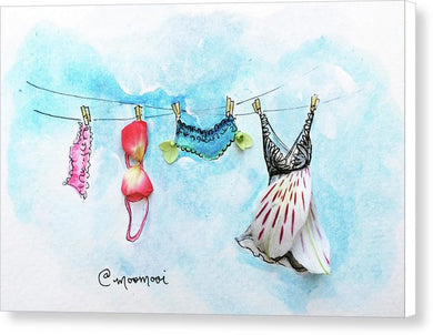 Laundry Line - Canvas Print