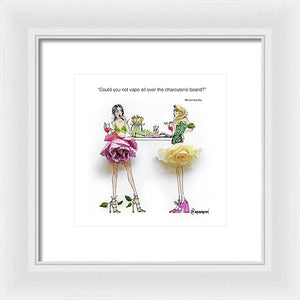 Party Foul - Framed Print